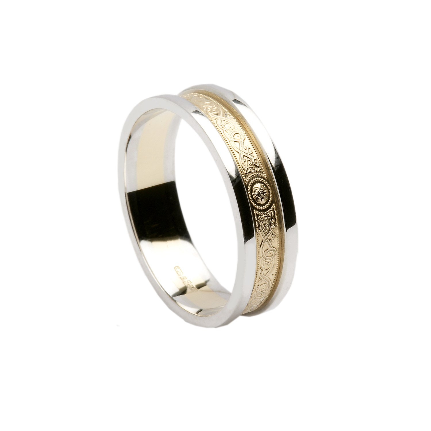 wedding il rings celtic fullxfull gaelic designs engagement luxury
